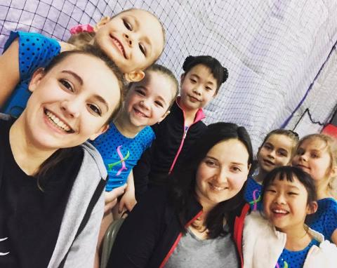 Happy Faces of Level 3 and Coaches Zhenya and Mathilde!