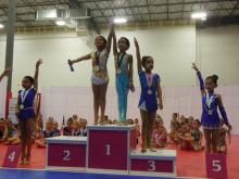 Level 4 Leyla-3rd All Around!!