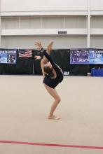 Level 8 Alyssa, Floor routine