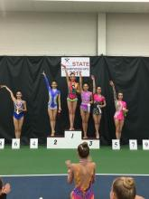 Level 9, Bella 1 st in Ribbon!!!
