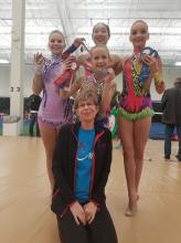 Level 9 with coach Irina