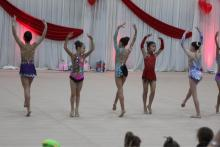 Dance performance by level 6