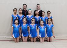 RhythMix level 4 team with our great coaches Alla and Dana