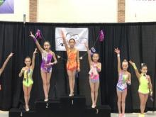 2017 MI Invitational, Level 5, Heather- Ball and Clubs Chempion!